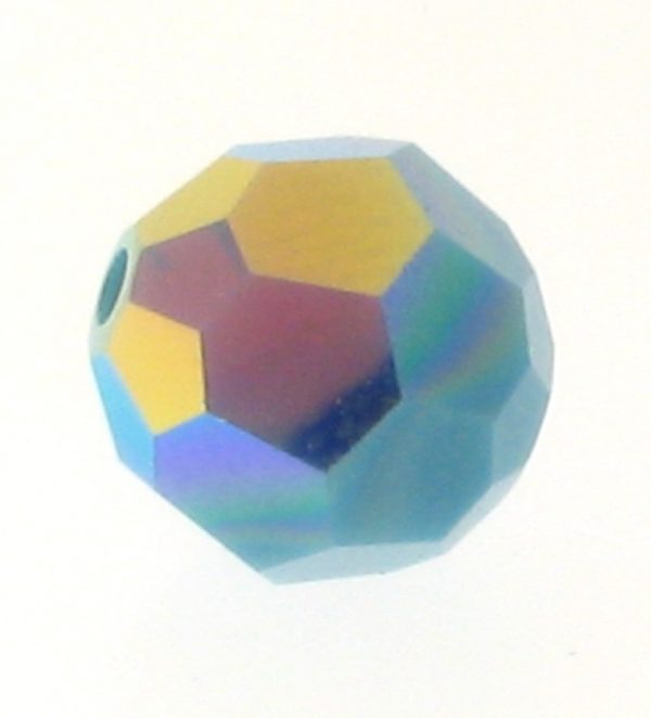 5000 - 8mm Swarovski Faceted Round Bead - Turquoise AB