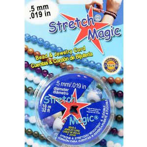 11059-10 - 0.5mm Stretch Magic Elastic Jewelry Cord Clear - (10 Meter)