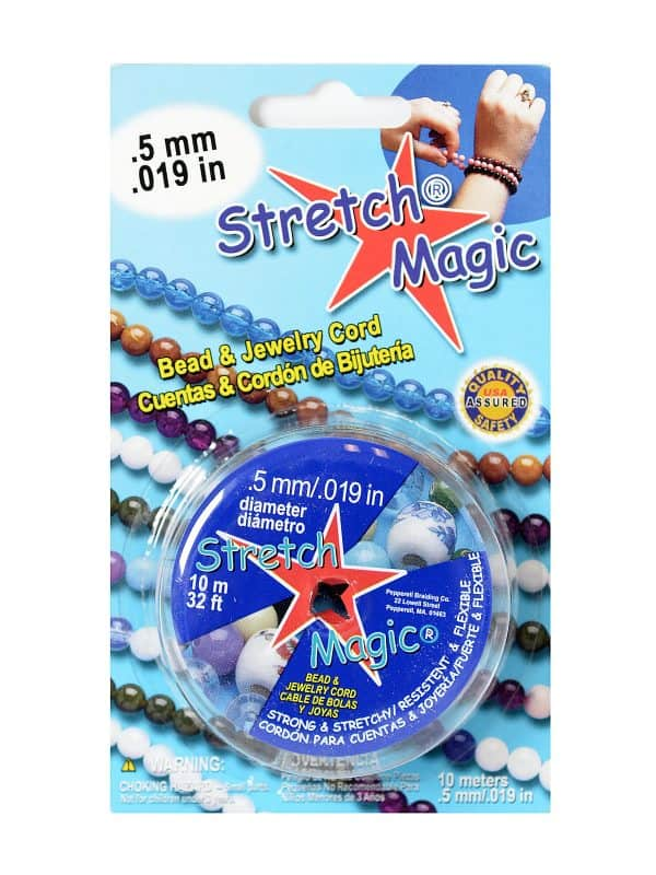 11059-10 - 0.5mm Stretch Magic Elastic Jewelry Cord Clear - (10 Meter)