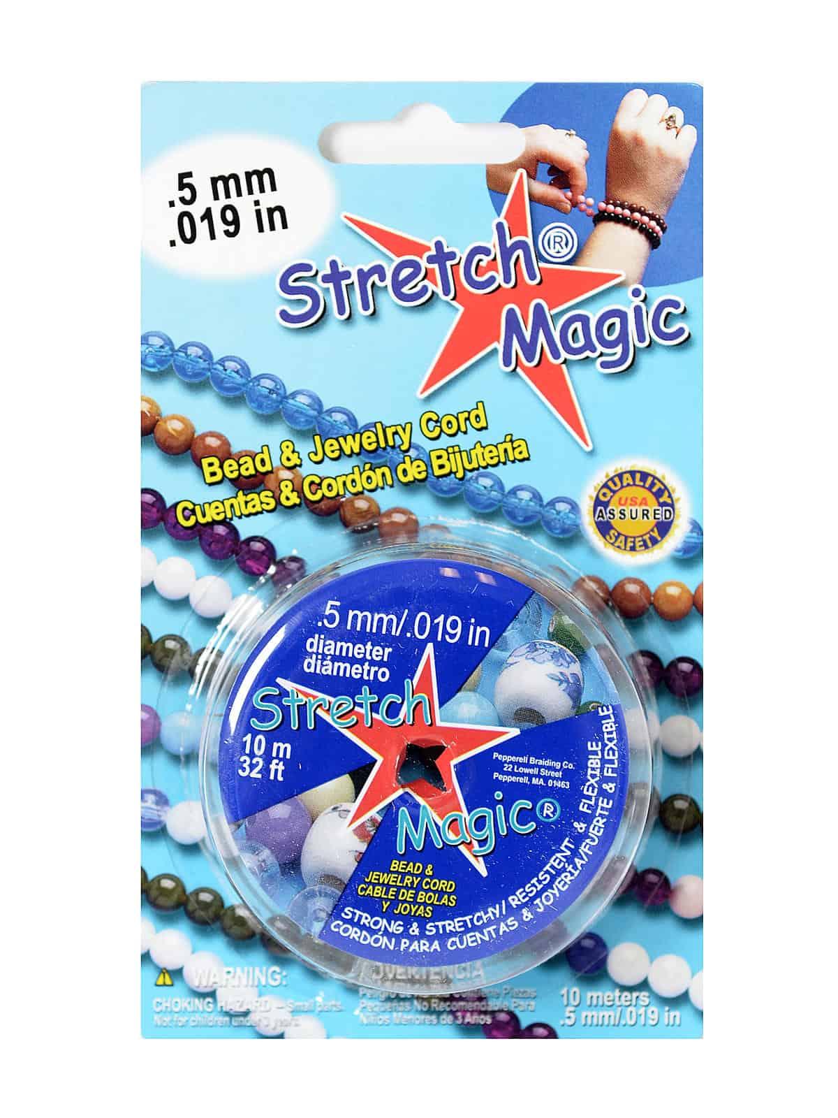 10m Stretch Magic elastic clear thread