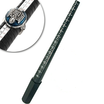 11097 - Ring Size Measurer - (Plastic Made)