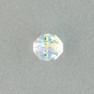 5025 - 8mm Swarovski Round Faceted Crystal Bead - Crystal AB