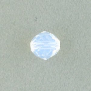 5025 - 8mm Swarovski Round Faceted Crystal Bead - White Opal