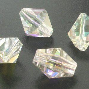 5121 - 11x8.8mm Swarovski Vintage Crystal Bead - Crystal AB