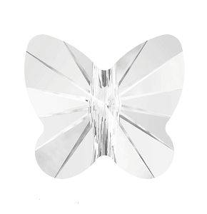5754 - 5mm Swarovski Butterfly Crystal Bead - Crystal