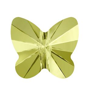 5754 - 5mm Swarovski Butterfly Crystal Bead - Jonquil