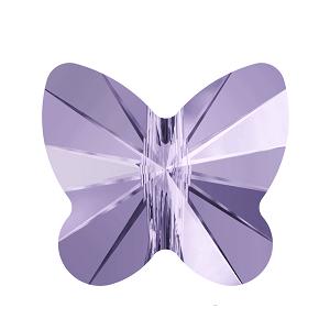 5754 - 5mm Swarovski Butterfly Crystal Bead - Violet