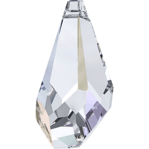 6015 - 13mm Swarovski Polygon Drop Pendant - Crystal AB