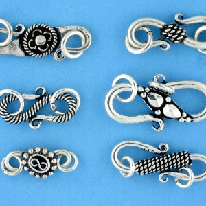 Bali Silver clasps