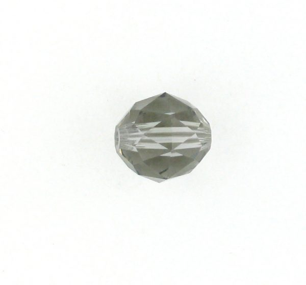 5025 - 6mm Swarovski Round Faceted Crystal Bead - Black Diamond