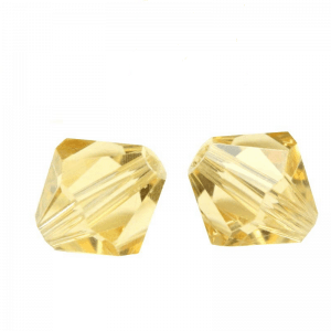 5301/5328 - 6mm Swarovski Bicone Crystal Bead - Champagne