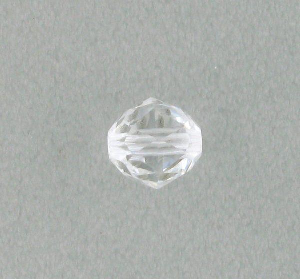 5025 - 6mm Swarovski Round Faceted Crystal Bead - Crystal