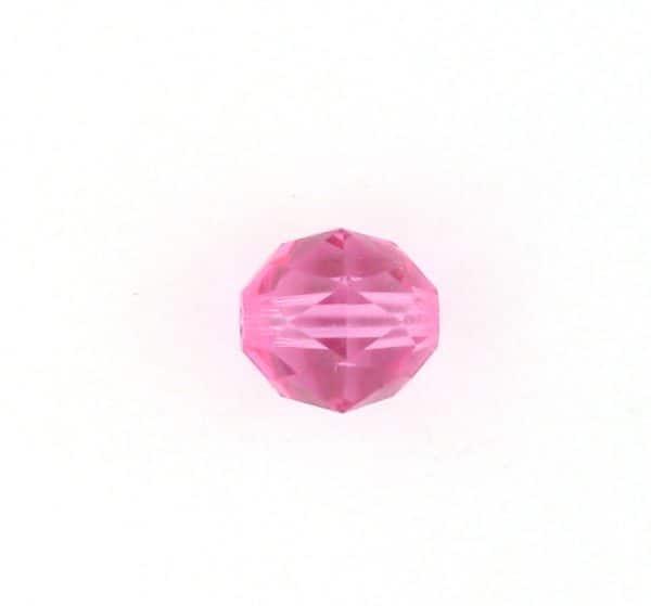 5025 - 6mm Swarovski Round Faceted Crystal Bead - Rose