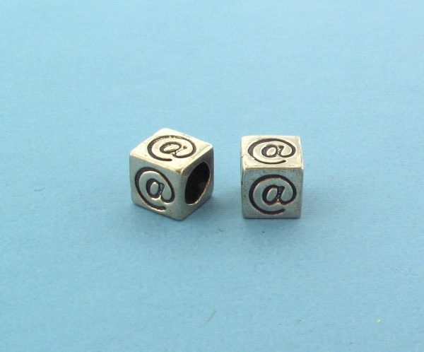 1319 - 5.5mm Sterling Silver Symbol/Character - @