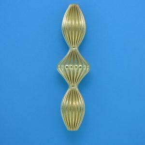 899 - 10x38.5mm Gold Filled Fancy Bead