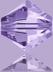 5301/5328 - 12mm Swarovski Bicone Bead Crystal - Tanzanite
