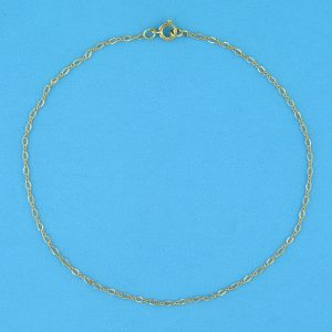 # 2331 - 14K/20 Gold Filled Thin Figure 8 Chain For Bracelet