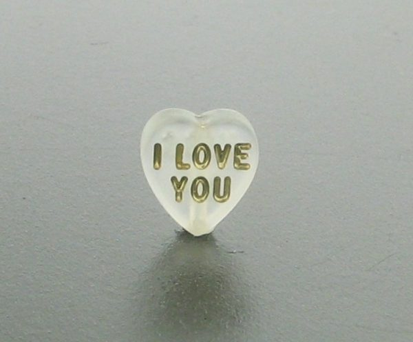 9561 - 9x10mm Heart Bead