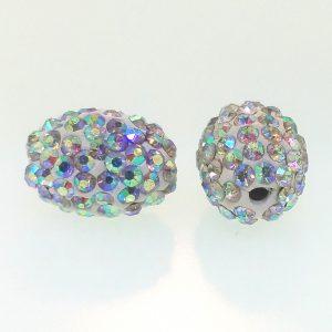 Shamballa Oval Beads