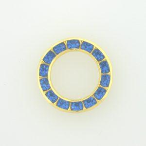 37714 - Swarovski Multi Stone Setting Round - Sapphire