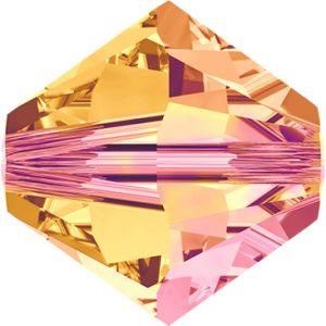 5301/5328 - 6mm Swarovski Bicone Bead - Astral Pink