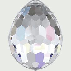 6002 - Swarovski Oval Disco Pendant