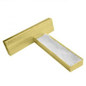 "11094 - Cotton Filled Jewelry Gift Box 8""x 2""x 1"""