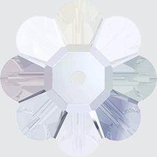 3700 - 10mm Swarovski Margarita Bead - Crystal AB