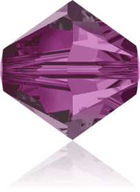 5301/5328 - 7mm Swarovski Bicone Crystal Bead - Fuchsia