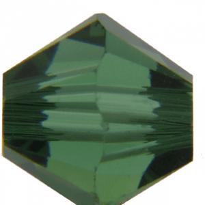 5301/5328 - 7mm Swarovski Bicone Crystal Bead - Green Turmaline