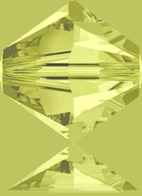 5301/5328 - 7mm Swarovski Bicone Crystal Bead - Jonquil