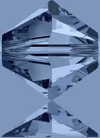5301/5328 - 7mm Swarovski Bicone Crystal Bead - Montana