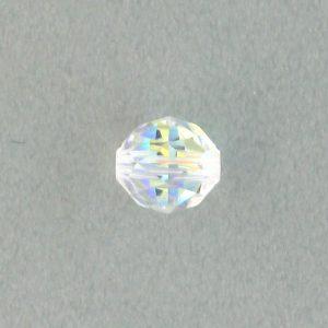 5025 - 6mm Swarovski Round Faceted Crystal Bead - Crystal AB