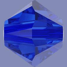 5301/5328 - 6mm Swarovski Bicone Crystal Bead - Majestic Blue