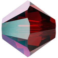 5301/5328 - 6mm Swarovski Bicone Crystal Bead - Siam Shimmer