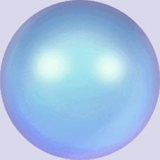 5810 – 8mm Swarovski Round – Iridescent Light Blue Pearl