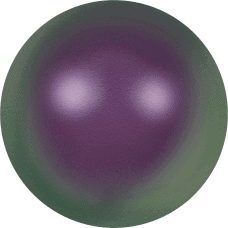 5810 – 8mm Swarovski Round – Iridescent Purple Pearl