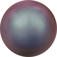 5810 - 6mm Swarovski Round - Iridescent Red Pearl