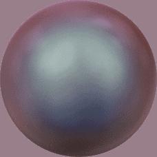 5810 – 8mm Swarovski Round – Iridescent Red Pearl