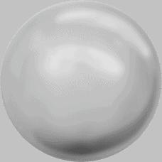 5810 – 8mm Swarovski Round – Light Grey Pearl
