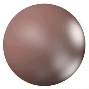 5810 – 8mm Swarovski Round – Velvet Brown Pearl