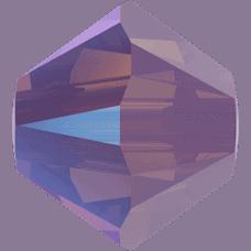 5301/5328 - 3mm Swarovski Bicone Crystal Bead - Cyclamen Opal Shimmer