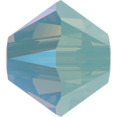 5301/5328 - 4mm Swarovski Bicone Bead - Pacific Opal Shimmer