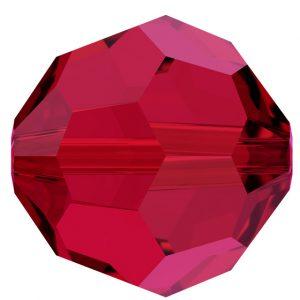 5000 - 4mm Swarovski Round Crystal - Scarlet