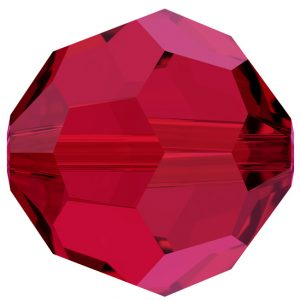 5000 - 10mm Swarovski Round Crystal - Scarlet