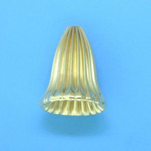 167 - 14x18mm 14K Gold Filled Cap Bead