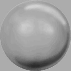5810 – 10mm Swarovski Round – Grey Pearl