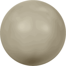 5810 – 10mm Swarovski Round – Platinum Pearl