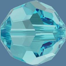 5000 - 6mm Swarovski Round Crystal Bead - Light Turquoise