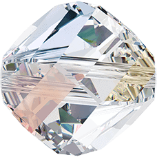 5020 - 10mm Swarovski Helix Beads - Crystal AB